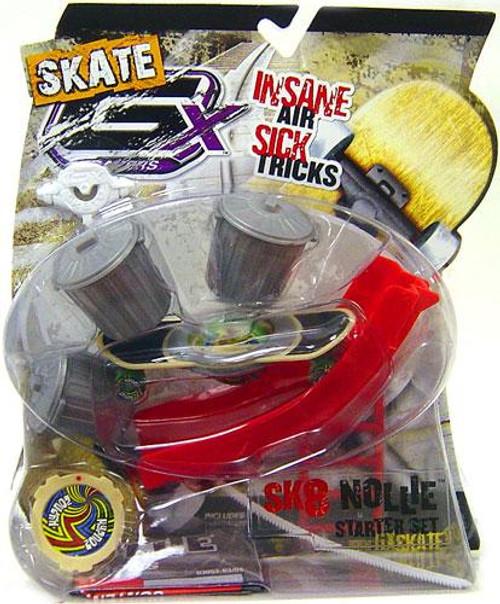 GX Racers Skate SK8 Nollie Hypnoz Deck Plate Starter Set [Freeride Board]