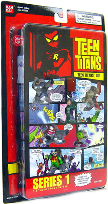 Teen Titans Go! Comic Book Heroes Series 1 Page 4 Exclusive 1.5-Inch Figure Pack