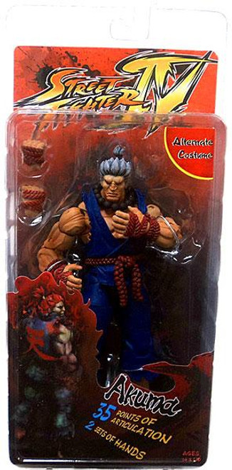 NECA Street Fighter IV Player Select Akuma Action Figure [Survival Mode]