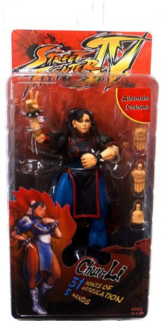 NECA Street Fighter IV Player Select Chun Li Action Figure [Survival Mode]