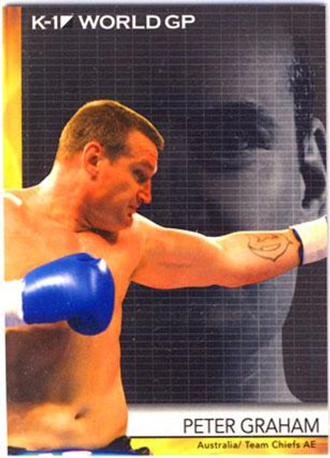 MMA K-1 World GP Peter Graham #27