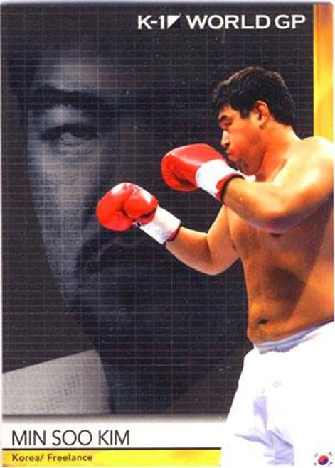 MMA K-1 World GP Min Soo Kim #29