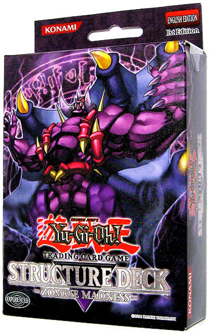 YuGiOh Structure Deck: Zombie Madness Zombie Madness Structure Deck [1st Edition] [Sealed Deck]