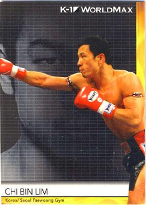 MMA K-1 World GP Chi Bin Lim #54