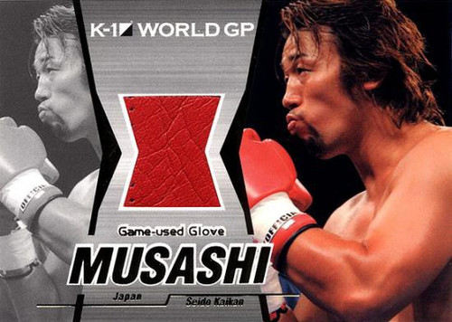MMA K-1 World GP Musashi Game-Used Glove G03