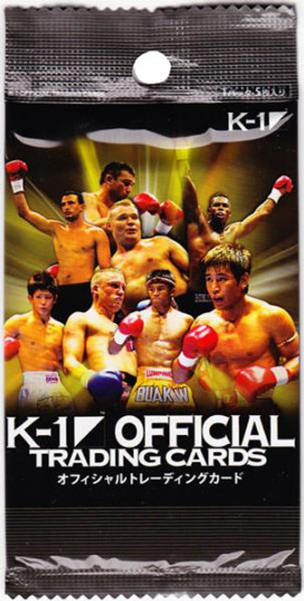 MMA K-1 World GP Trading Card Pack