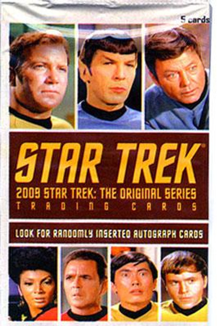 2009 Star Trek: The Original Series Trading Card Pack