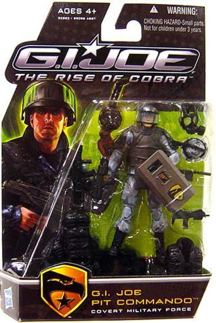 The Rise of Cobra GI Joe Pit Commando Action Figure [Holding Shield Variant]