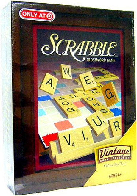 Vintage Game Collection Scrabble Board Game