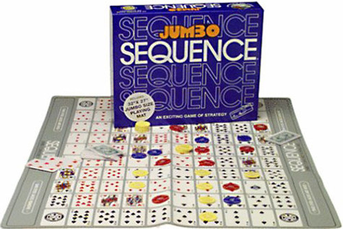 Jumbo Sequence Board Game