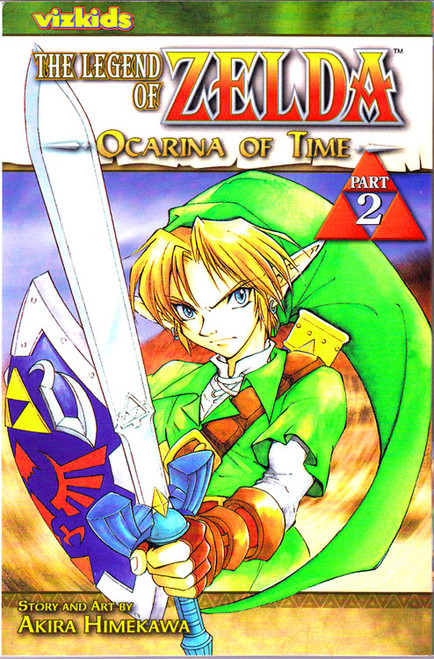The Legend of Zelda Ocarina of Time Manga [Part 2]