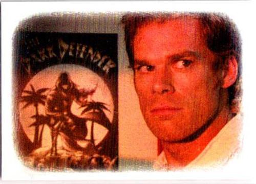Dexter Bay Harbor Butcher: Friend or Foe? Chase Foil Trading Card DD1
