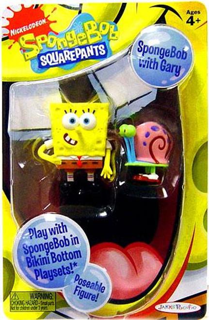 Spongebob Squarepants Spongebob Mini Figure [With Gary]