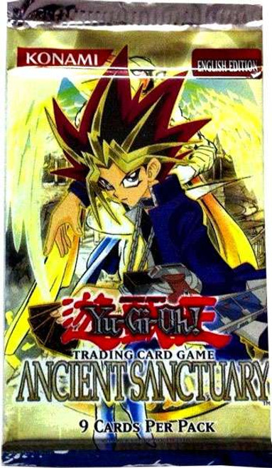 YuGiOh Ancient Sanctuary Booster Pack [Sealed]
