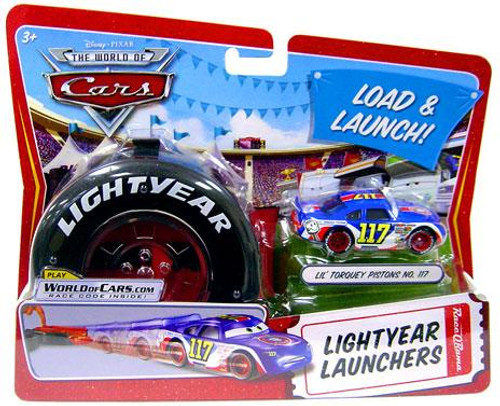 Disney Cars The World of Cars Lightyear Launchers Lil' Torquey Pistons No. 117 Diecast Car [With Launcher]