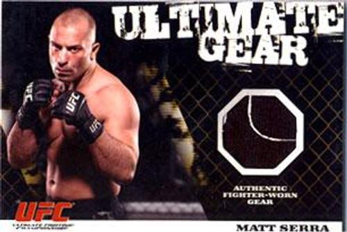 UFC 2009 Round 1 Ultimate Gear Card Matt Serra [Ultimate Gear]