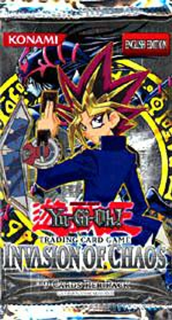 YuGiOh Invasion of Chaos Booster Pack [Sealed]