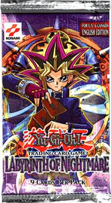 YuGiOh Labyrinth of Nightmare Booster Pack [Sealed]