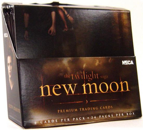 NECA Twilight New Moon Trading Card Box