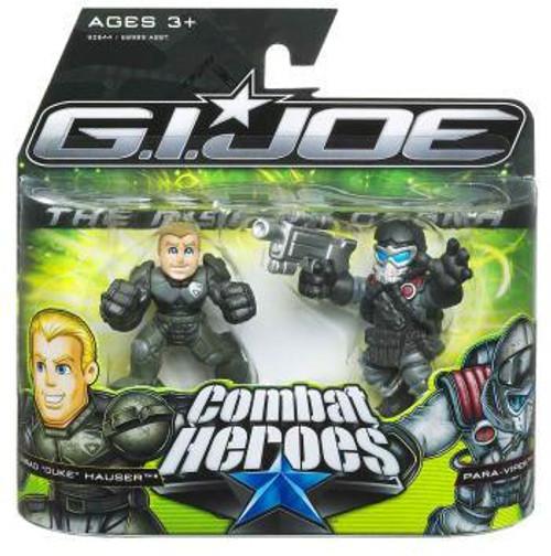 GI Joe The Rise of Cobra Combat Heroes Conrad Hauser Duke & Air-Viper Mini Figure 2-Pack