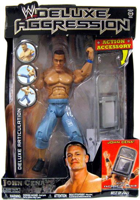 WWE Wrestling Deluxe Aggression Best of 2009 John Cena Action Figure