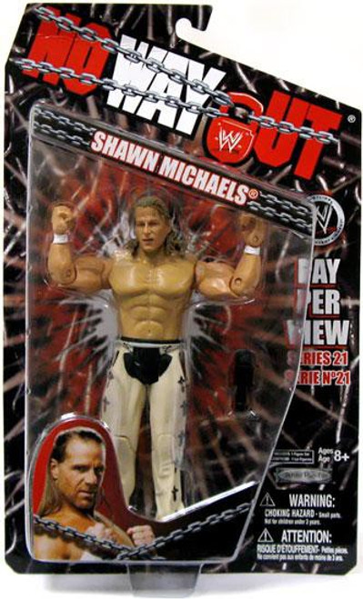 WWE Wrestling Pay Per View Series 21 No Way Out Shawn Michaels Action Figure
