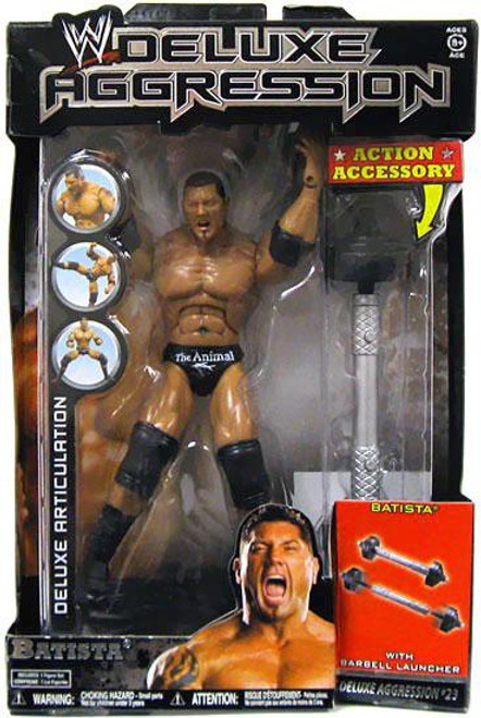 WWE Wrestling Deluxe Aggression Series 23 Batista Action Figure