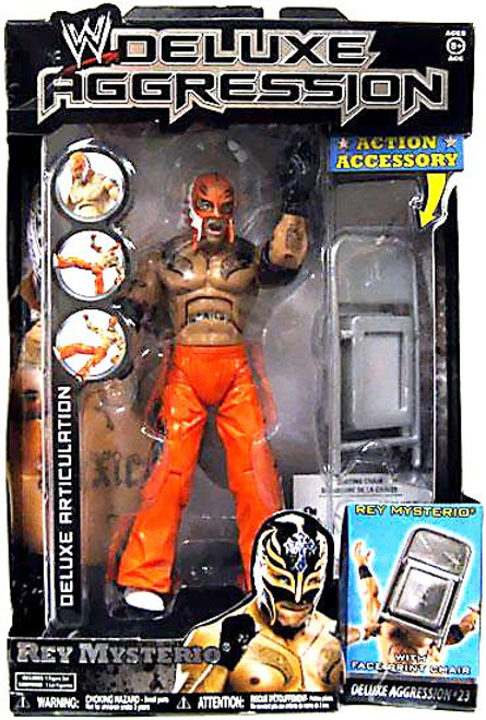 WWE Wrestling Deluxe Aggression Series 23 Rey Mysterio Action Figure
