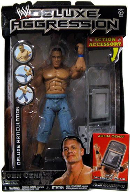 WWE Wrestling Deluxe Aggression Series 23 John Cena Action Figure