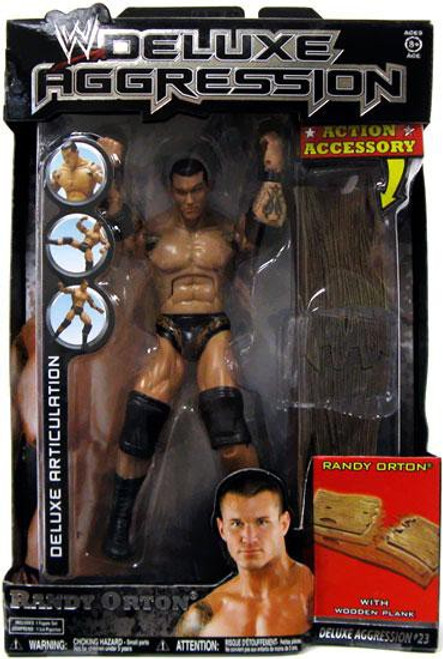 WWE Wrestling Deluxe Aggression Series 23 Randy Orton Action Figure