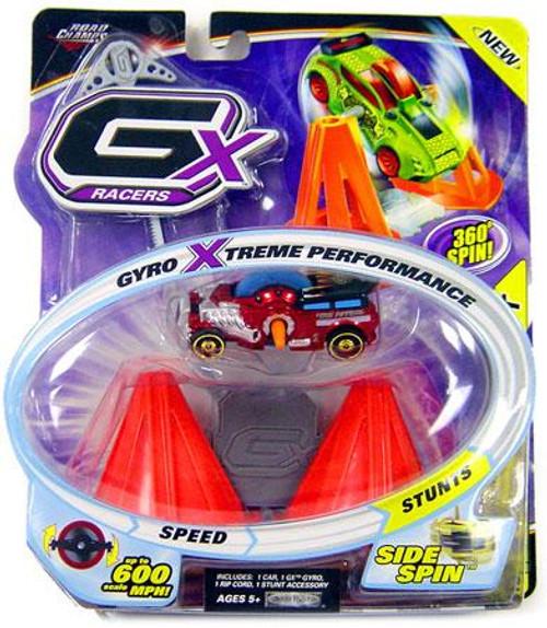 GX Racers Stunts Series 2 Fire Patrol Plastic Car [Side Spin Gyro]