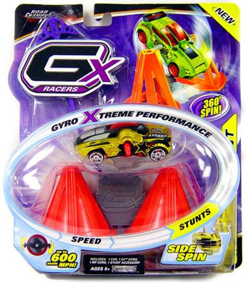 GX Racers Stunts Series 2 Asphalt Rocket Plastic Car [Side Spin Gyro]