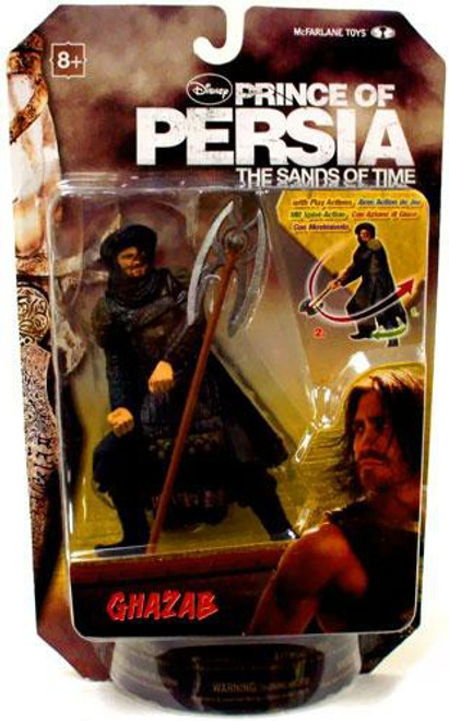 McFarlane Toys Prince of Persia The Sands of Time 6 Inch Ghazab Action Figure