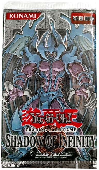 YuGiOh Shadow of Infinity Booster Pack [Sealed]