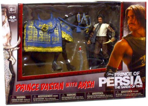 McFarlane Toys Prince of Persia The Sands of Time Prince Dastan with Aksh Action Figure Set