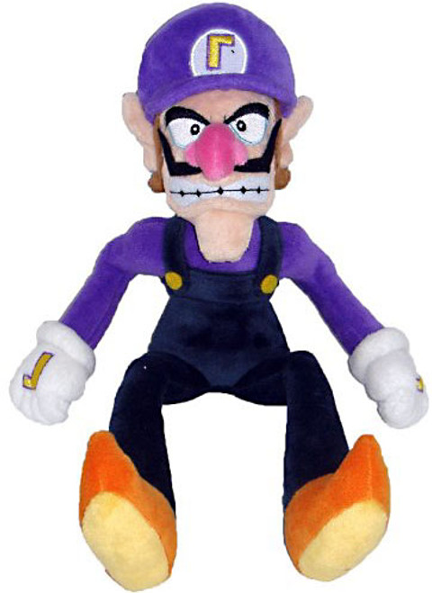 Super Mario Bros Waluigi 11-Inch Plush