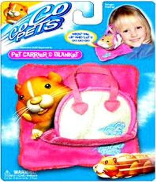 Zhu Zhu Pets Pet Carrier & Blanket Accessory [Pink]
