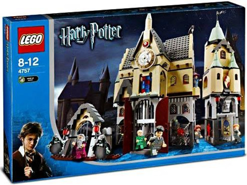 LEGO Harry Potter Series 1 Prisoner of Azkaban Hogwarts Castle Set #4757
