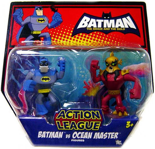 The Brave and the Bold Action League Batman Vs. Ocean Master Mini Figure 2-Pack