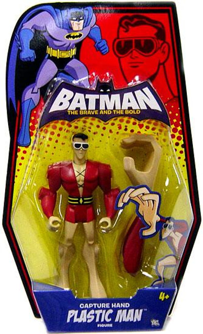 Batman The Brave and the Bold Captured Hand Plastic Man Action Figure