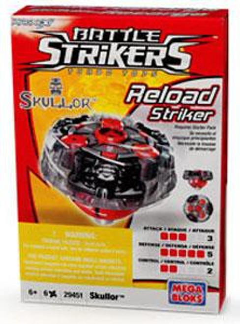 Battle Strikers Reload Striker Skullor Top #29451