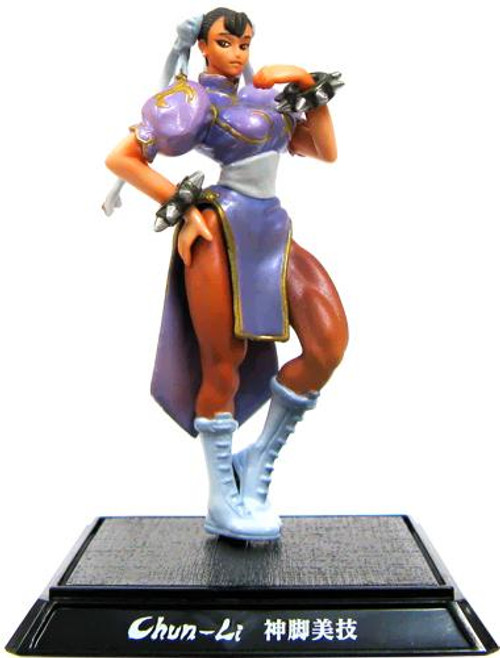 Street Fighter IV Chun Li PVC Figure [Purple]