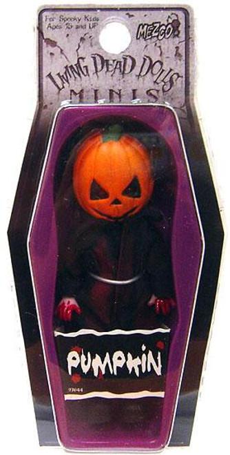 Living Dead Dolls Pumpkin Mini Doll