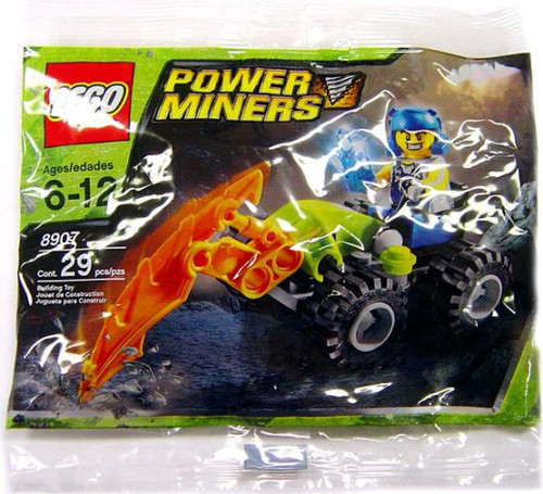 LEGO Power Miners Rock Hacker Exclusive Mini Set #8907 [Bagged]