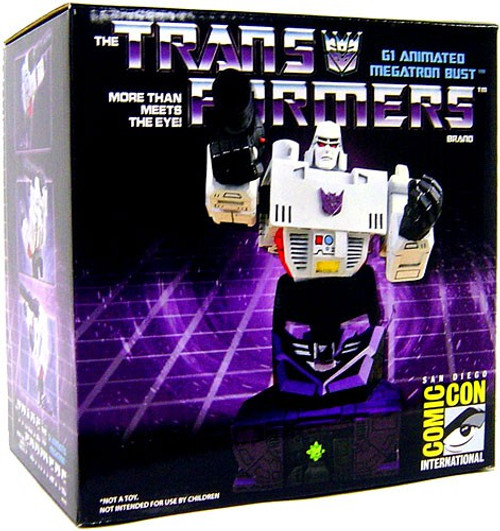 Transformers Statues & Busts G1 Megatron Exclusive Bust