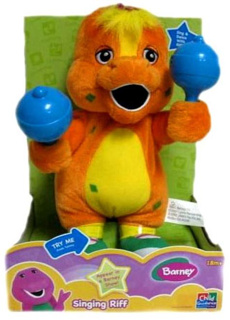 Barney Singing Riff Plush
