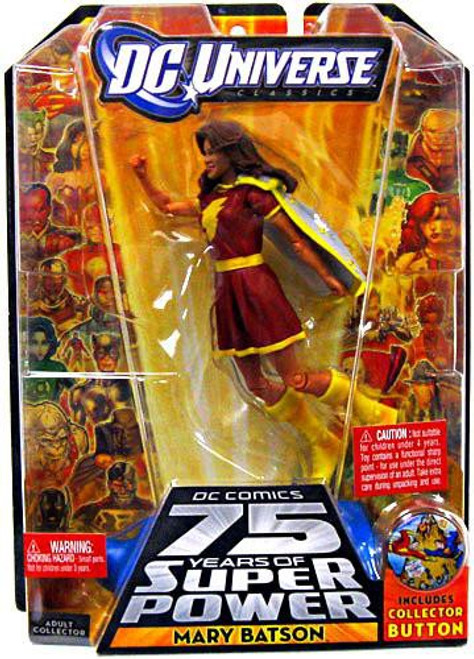 DC Universe 75 Years of Super Power Classics Mary Batson Action Figure [Red Outfit]