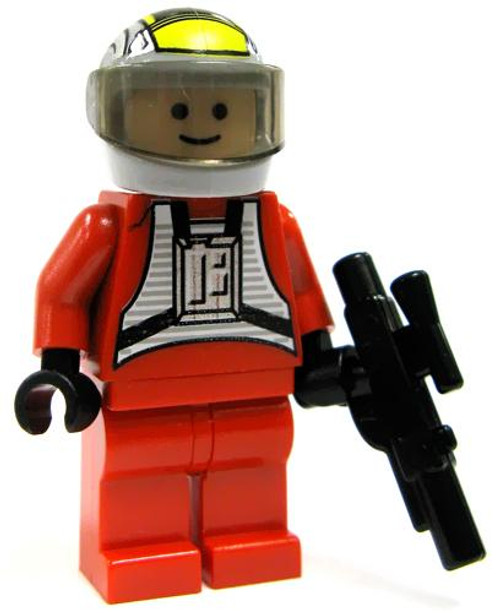 LEGO Star Wars Loose Rebel B-Wing Pilot Minifigure [Loose]