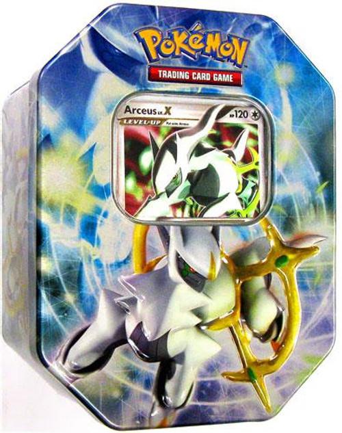 Pokemon 2009 Arceus Collector Tin [Blue]