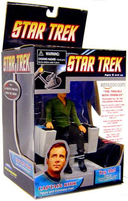Star Trek The Trouble With Tribbles Captain Kirk Action Figure